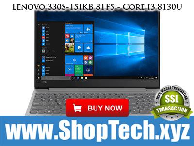 Lenovo 330S-15IKB 81F5 - Core i3 (ShopTech.xyz) #ShopTechxyz - RJO Ventures, Inc.