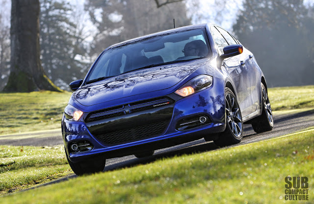 2013 Dodge Dart Rallye driving