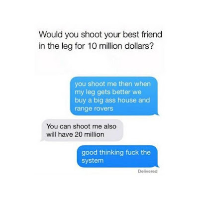 Will You Shoot Your Friend For $10m? See This Guy's Epic Reply