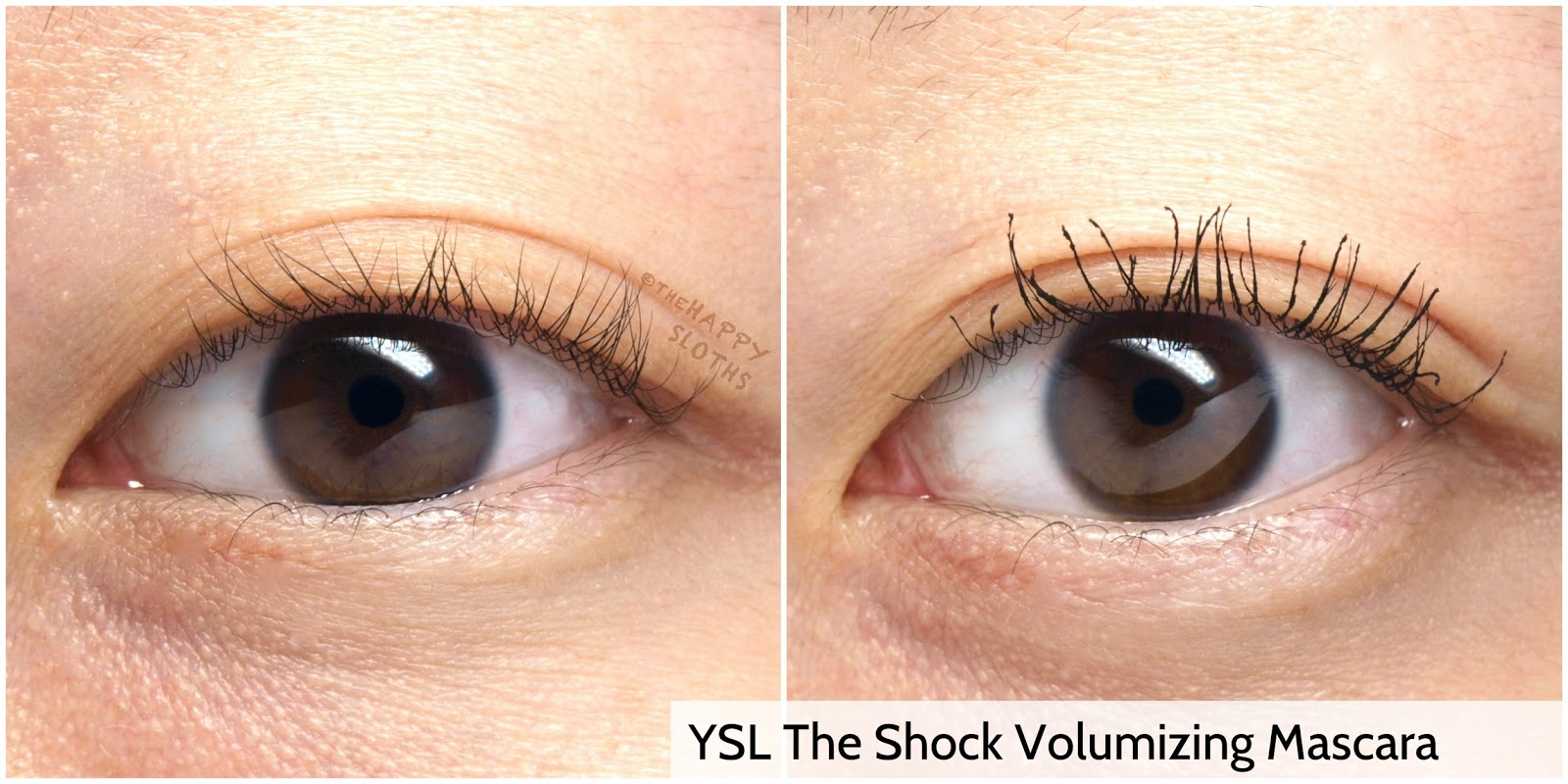 Yves Saint Laurent The Shock Volumizing Mascara: Review and Swatches
