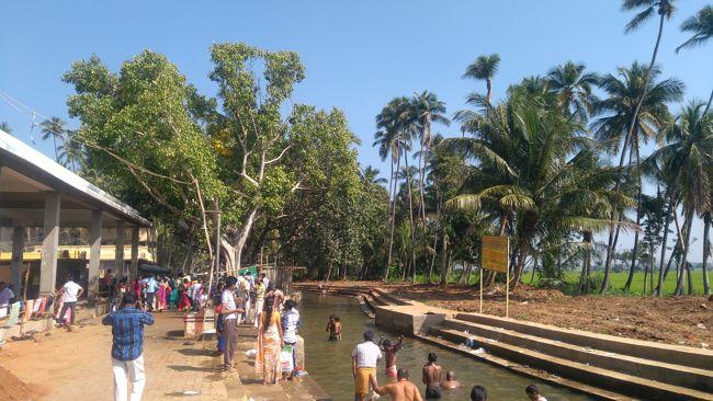 Rivulet In Front Of Kuchanur Saneeswara Temple