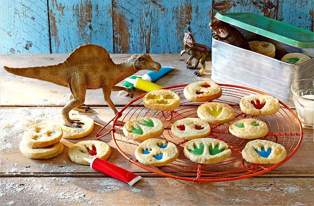 ciasteczka dinozaury - dziecko w kuchni