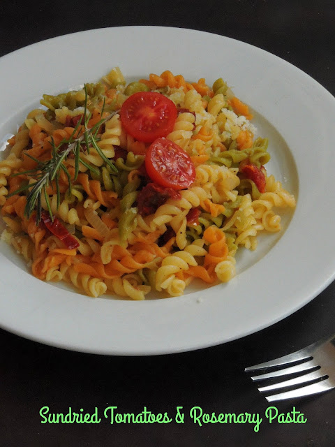 Sundried Tomatoes & Rosemary Pasta