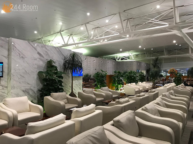 Noibai Airport Lounge ノイバイ空港ラウンジ