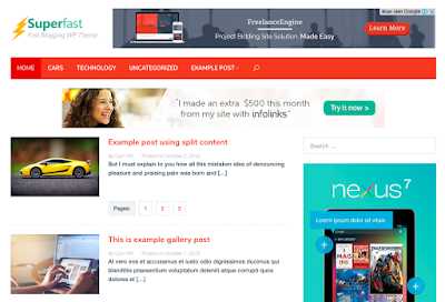 Template Wordpress Sederhana SEO Paling Sering Digunakan