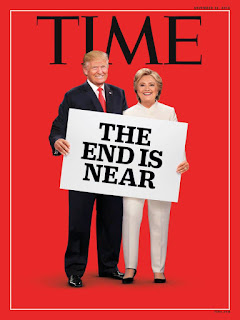 Time magazine election cover