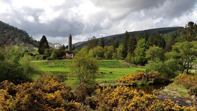 Paisagem em Glendalough