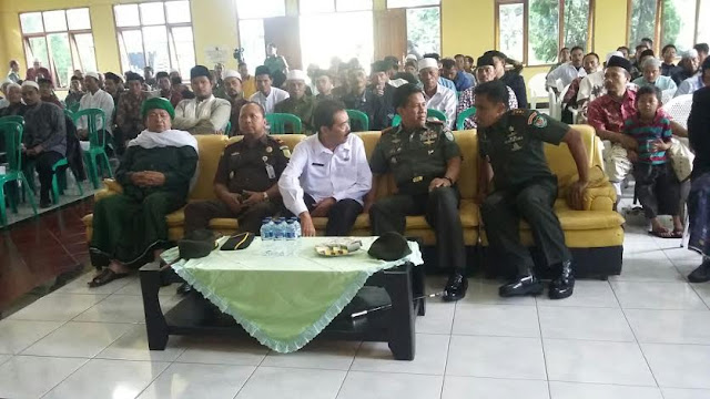 Danrem 061/Surya Kancana Gelar Silaturahmi dengan Tokoh Masyarakat Cianjur