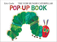 caterpillar storytime, very hungry caterpillar pop-up book