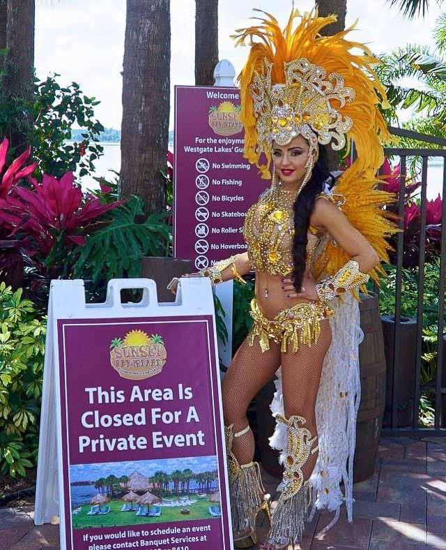 Destaque do carnaval paulista, Phoebe Vecchioni irá se apresentar em um mega evento na Flórida. Foto: Zuleika Ferreira/Renato Cipriano - Divulgação