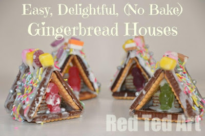 easy mini gingerbread houses