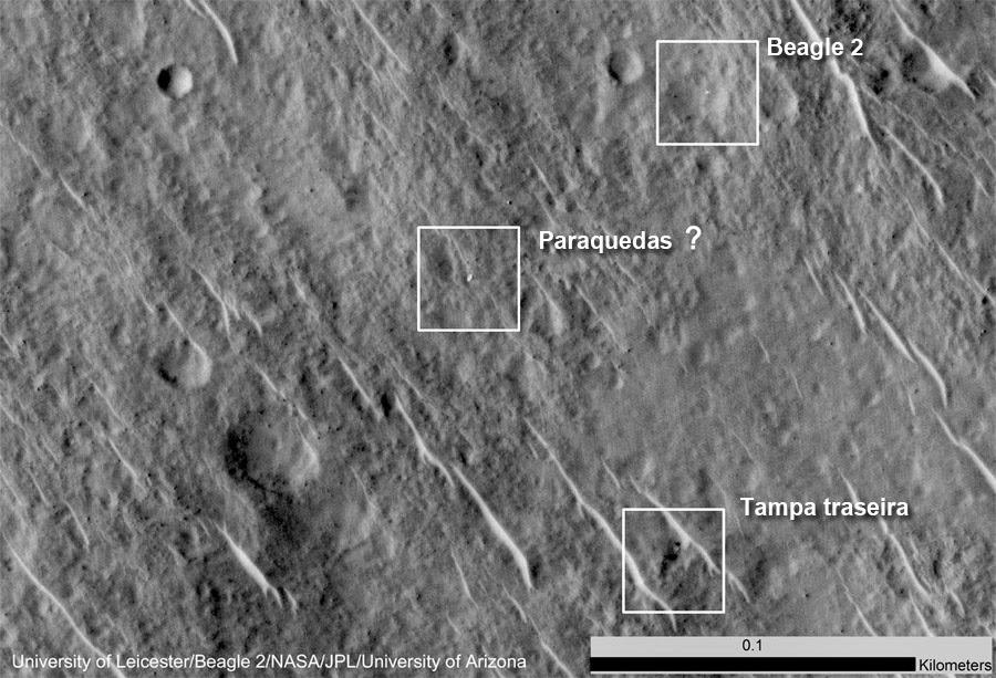 O que a NASA encontrou em Marte