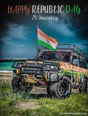 Republic day 2019 background Download, 26 January image Download, Picsart photo editing 26 January background, Gadtantra Diwas background image 2019