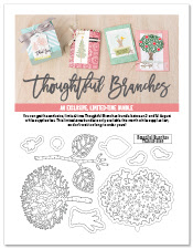 Stampin' Up! Susan Simpson Independent Stampin' Up! Demonstrator, Craftyduckydoodah!, August 2016 Update, Supplies available 24/7, Thoughtful Branches