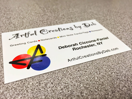 Deborah ciccone faniel google business cards from overnight prints reheart Images