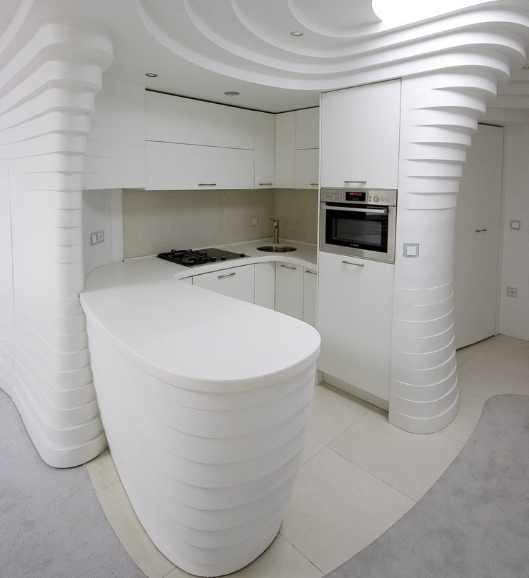 Kitchen Inside the Barin Ski Resort. Learn more at if it's hip, it's here.