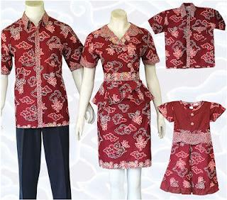 Model Batik Keluarga dan Anak