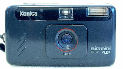 Konica Big Mini Jr. BM-20, Front
