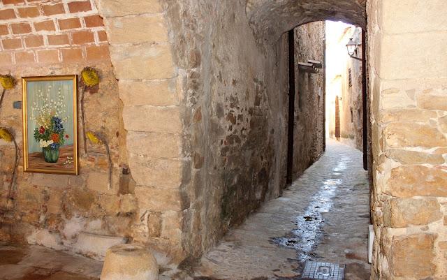 Rincones de Peratallada. Pueblo medieval del Bajo Ampurdán