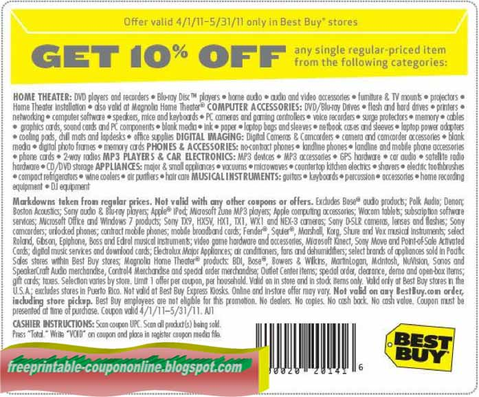 Best buy printable coupons january 2018