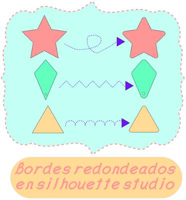 bordes redondos silhouette studio