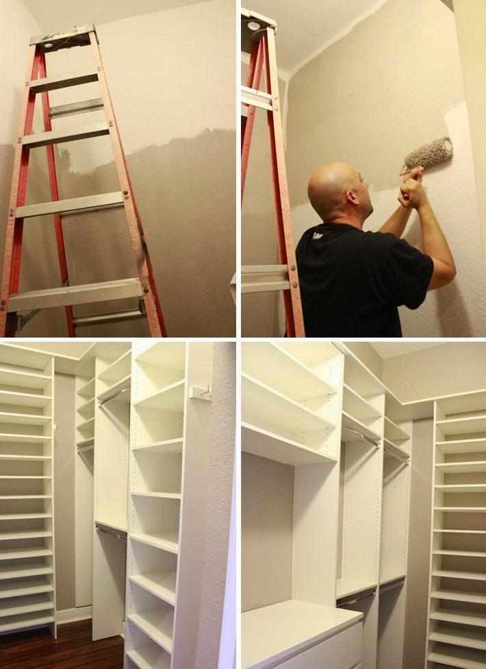 Fika a dika por um mundo melhor closet dicas de como fazer for Closets para apartamentos pequenos