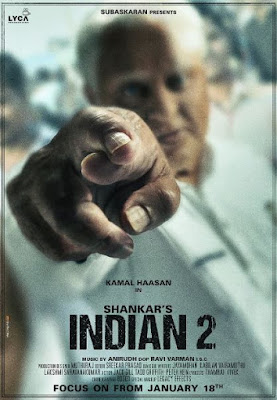 Indian 2 Movie First Look, Indian 2 First Poster, Indian 2 South Movie