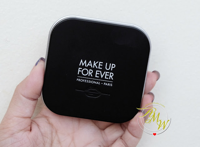 a photo of Make Up For Ever Ultra HD Microfinishing Pressed Powder Review by Askmewhats Nikki Tiu