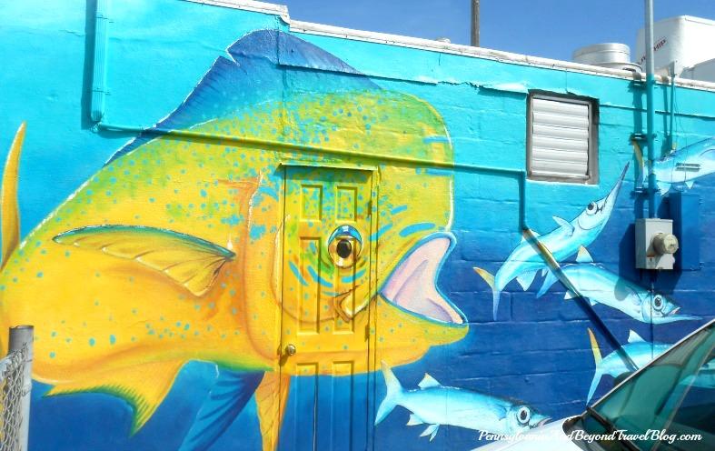 Pennsylvania & Beyond Travel Blog: Sea Life Wall Mural Street Art at ...