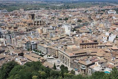 Granada from La Alhambra