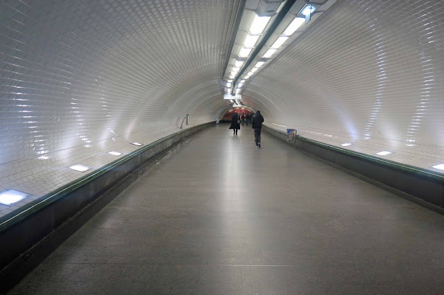 At the end of a long corridor…