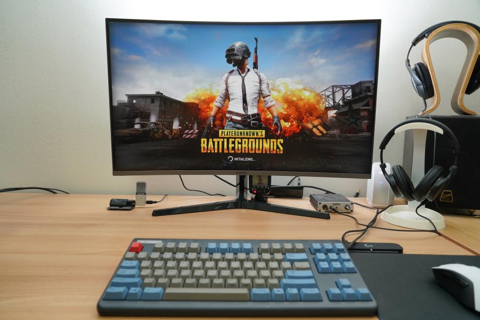 Samsung Curved 144Hz Gaming Monitor C32JG50 Reviews - EagleK
