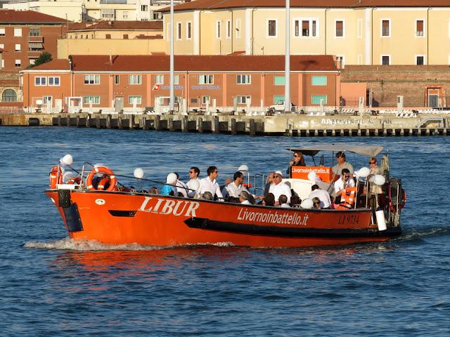 Livorno by Boat, Porto Mediceo, Livorno