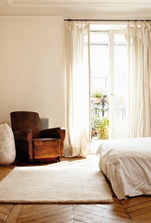 my scandinavian home: Beautifully simple Parisian apartment