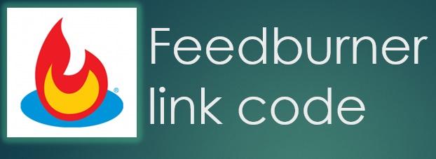 Link Code FeedBurner