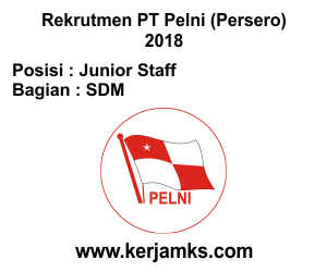 Lowongan Kerja SDM - Junior Staff PT PELNI (Persero)