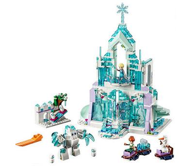 JUGUETES - LEGO Disney  41148 Frozen : Palacio Mágico de Hielo de Elsa  2017 | Piezas: 701 | Edad: 6-12 AÑOS  Comprar en Amazon España