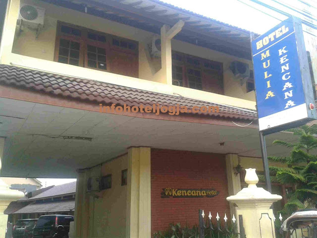 Hotel Mulia Kencana dekat malioboro jogja.