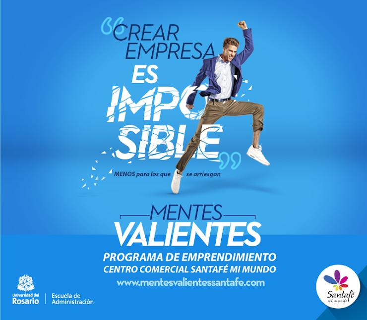 Mentes Valientes Santafé, una iniciativa que busca impulsar 15 empresas colombianas innovadoras