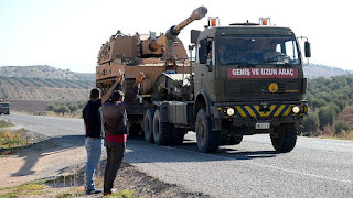 New Convoy of Special Forces to Afrin