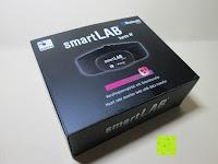 Verpackung: smartLAB hrm W Bluetooth 4.0 /ANT Herzfrequenzstoffgürtel NEU nachfolger von smartLABhrm und smartLABhBeat.