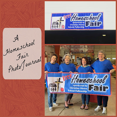 A Homeschool Fair PhotoJournal on Homeschool Coffee Break @ kympossibleblog.blogspot.com