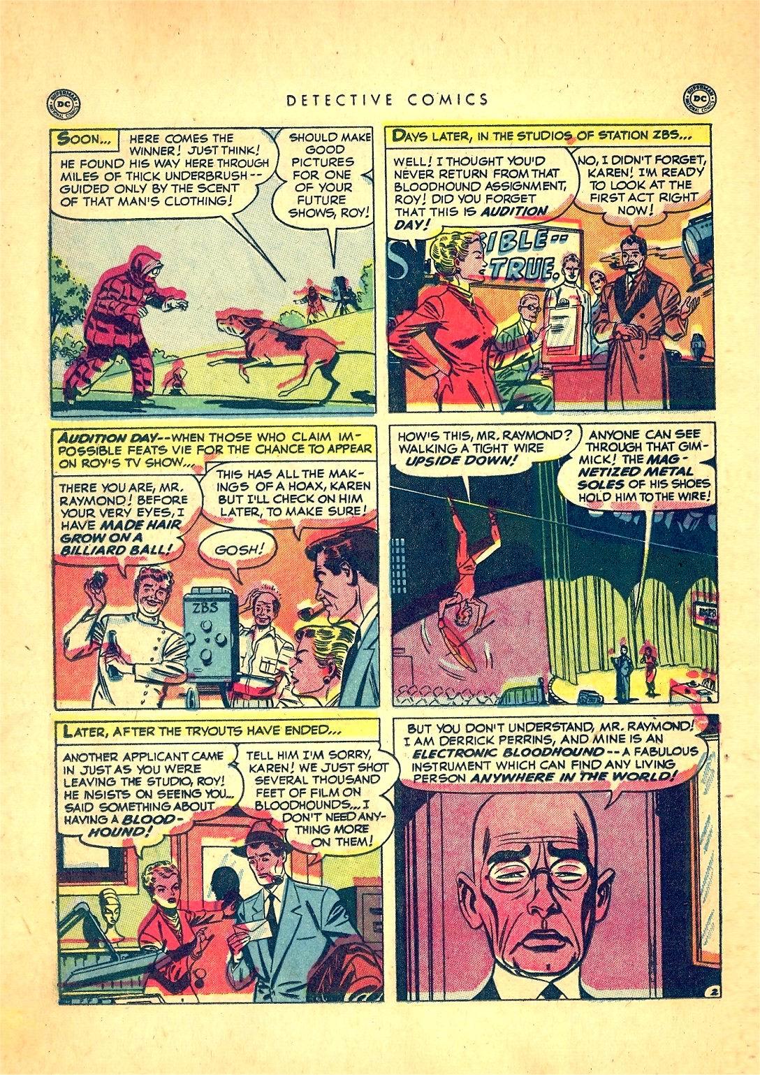 Read online Detective Comics (1937) comic -  Issue #166 - 18