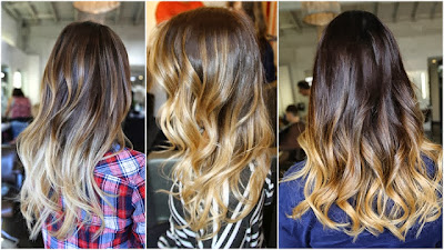 "O tal do ""ombré hair""!"