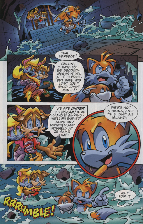 Read online Sonic Universe comic -  Issue #20 - 16