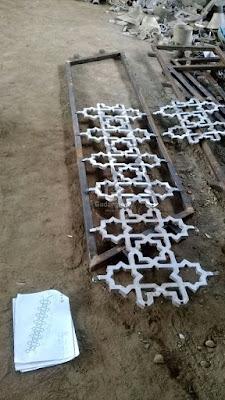 Harga Railing Masjid Aluminium