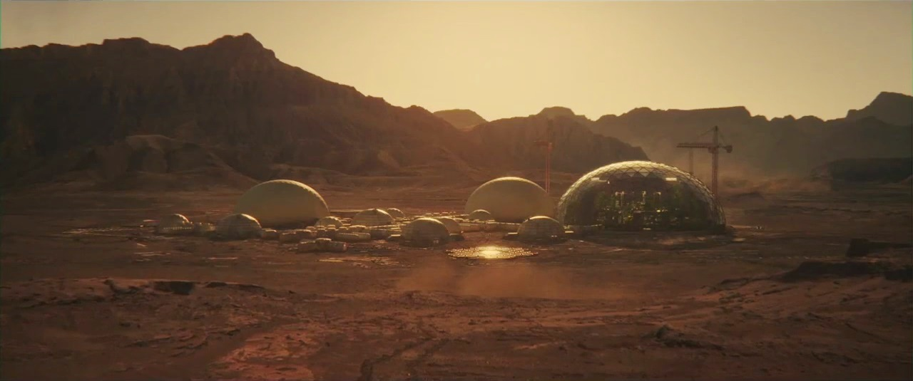 Human Mars  Hd Images From The Space Between Us  2017  Movie