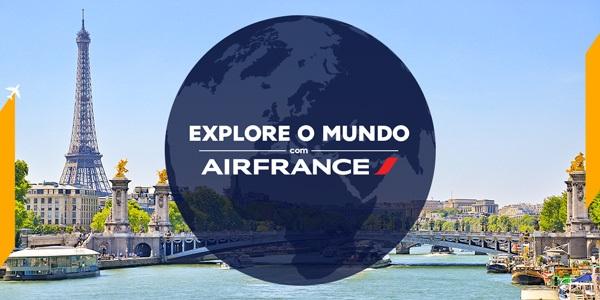 """Promoção: """"Explore o Mundo"""" blog topdapromocao.com.br AirFrance facebook instagram 2017"""