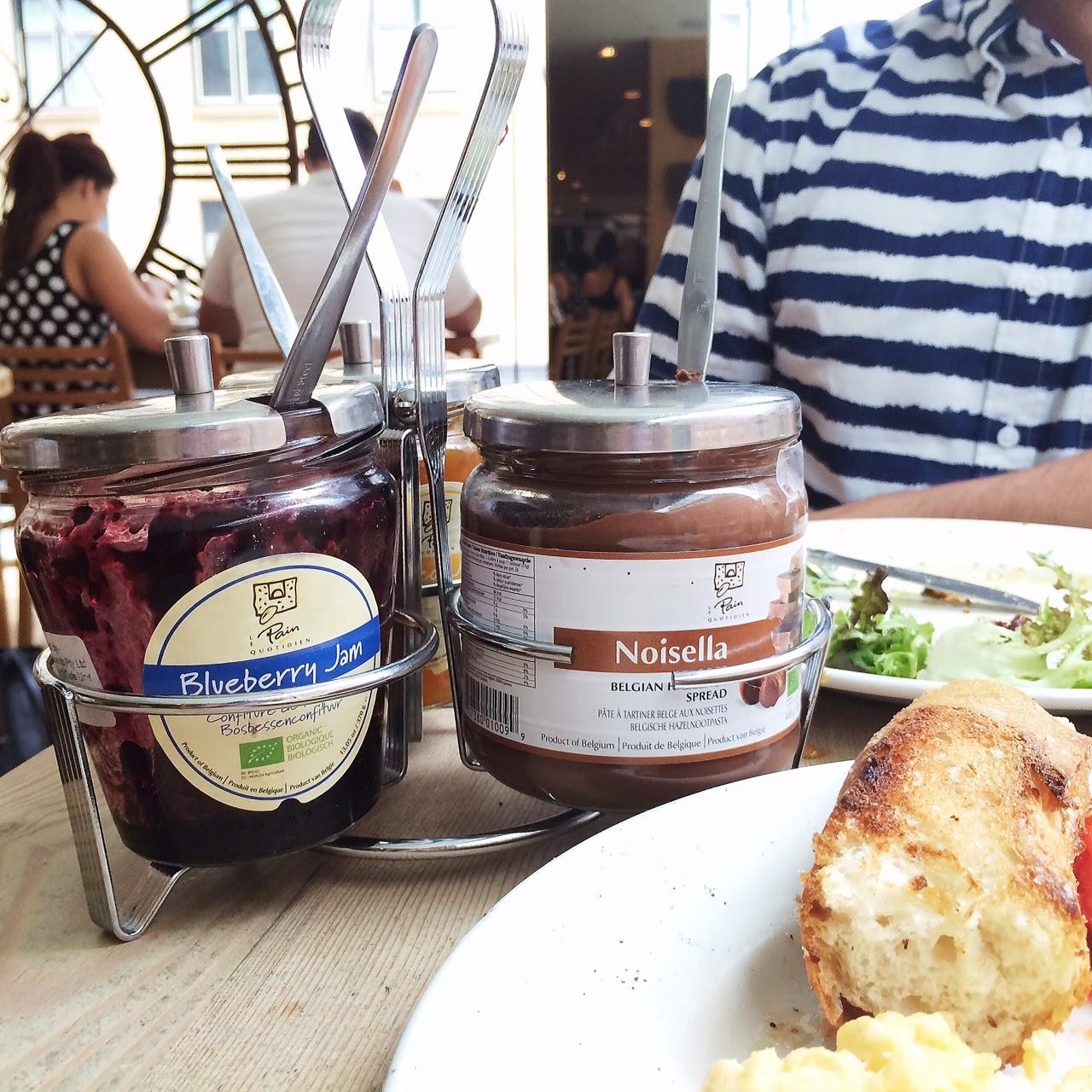 Sourdough Blueberry Coffee Cake