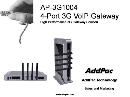 AP-3G1004 4-Port 3G Gateway (Analog, VoIP)